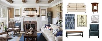 Nautical Style Living Room Furniture by Real Deal Steal A Nautical Style Living Room The Accent
