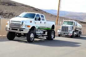 Festive Ford F-650 Spotlights New Fuel