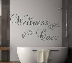 dekoration wandtattoo badezimmer wellness nr 2 wandaufkleber