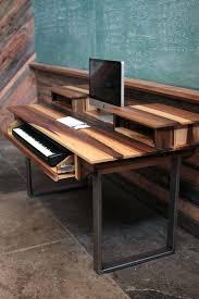 Music Studio Desk Minimalist Modern Audio Video Editing By Home Ideas