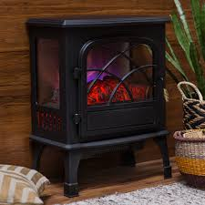 Decor Flame Infrared Electric Stove by Belham Living Breckenridge Infrared Stove Heater With 3d Flame