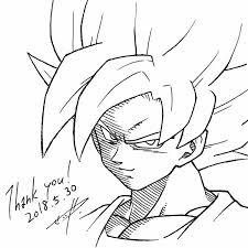 Goku Super Saiyan God Para Colorear Jaredpandoracom