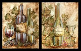 Tuscan Wine And Grape Kitchen Decor by Tre Sorelle U0027s Art Licensing Program