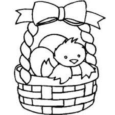 Easter Egg Hatch In Basket