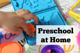 Teaching Preschool At Home Does Not Require Expensive Curriculum All Simple Activities That Are