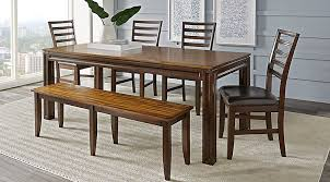 Adelson Chocolate 5 Pc Dining Room