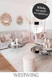 schöne deko ideen in rosa westwing zuhause wohnzimmer