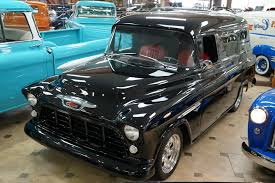 100 Chevrolet Panel Truck 1955 3100 For Sale 92567 MCG