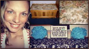 how to reupholster a hope chest no sew youtube