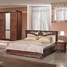 alesie luxus schlafzimmer komplett im barock stil eiche tabakfarbe