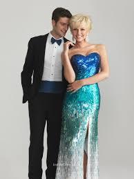 sparkle blue fully beaded sequin sweetheart strapless slit slim