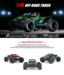 1:18 Bigfoot Cars 50km/H Rc Car 4wd 2.4ghz Remote Control Trucks ...