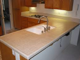kitchen kitchen ceramic tile countertops design with cleaning