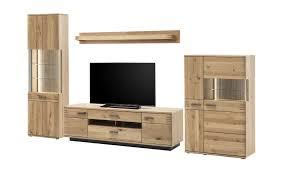 woodford wohnkombination monta holzfarben wohnwände anbauwände möbel kraft