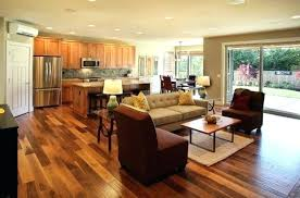 Open Concept Kitchen Living Room And Designs With