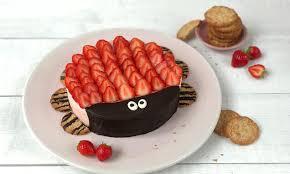 fröhliche frischkäse erdbeer torte