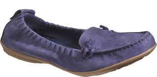 hush puppies ceil slip on mt womens loafers shoes navy nubuck 7 5