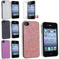 Amazon Glitter iPhone 4 Case 4pack only $3 40 Free Shipping