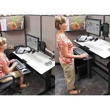 Ergotron Workfit D Sit Stand Desk by Ergotron Workfit D Sit Stand Desk Light Grey 24 271 926 Amazon In