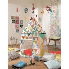 cabane dans la chambre cabane multicolore tente de jeu djeco lapouleapois fr