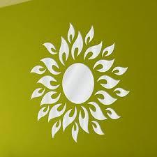 Was Kostet Eine Kã Che Leicht Details Zu Acryl Spiegel Sonne Dekorativ Bruchsicher Ess Kã Che Badezimmer Wand Spiegel