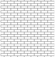 Brick Wall Seamless Pattern Classic Vector