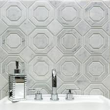 Tierra Sol Tile Vancouver Bc by Helix White Carrara Marble And Glass Tile Tilebar Com Tile