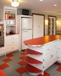 50S Style Kitchen Cabinets A Retro Inspired New Hampshire Home September October 2014 Interior Designing Ideas