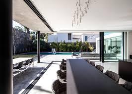 100 Glass Floors In Houses Pitsou Kedems S House Balances Concrete Box Above Glazing