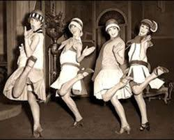 Flappers Doing The Charleston