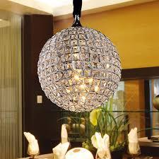 einfache moderne k9 kristall pendelleuchte kunst zimmer restaurant esszimmer runden pendelleuchte e14 lenfassung