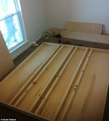 How To Build A Platform Bed Frame Plans by How To Build Your Own Levitating Bed And No Magic Required The