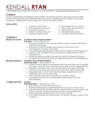 Best Retail Customer Service Representative Resume Example Regarding Skills And Abilities For Examples