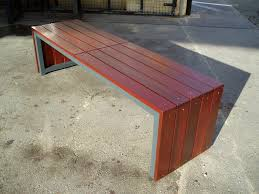 Garden bench and seat pads Outdoor Bench Plans Outdoor Bench