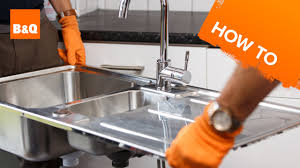 How To Change A Sink by How To Replace A Kitchen Sink Part 2 Removing Your Old Sink Youtube