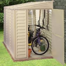 Rubbermaid Roughneck Shed Accessories by Duramax Sidemate 4x8 Vinyl Shed With Foundation Products
