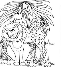 Alphabet Animaux Ou Abc Livre De Coloriage Image Vectorielle