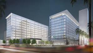 100 Long Beach Architect SOM Civic Center City Hall And Port Headquarters