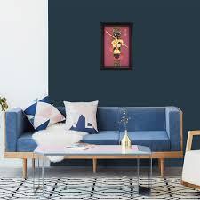 3d affe könig bilder goldfolie malerei handwerk gerahmte malerei sun wukong wand bilder für wohnzimmer wohnkultur geschenke