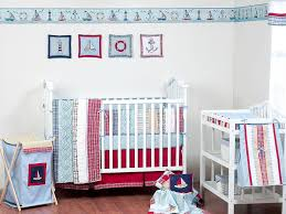 Baby Nursery: Entrancing Baby Nursery Room Decoration Using Blue And ... Decoration Fire Truck Crib Bedding Set Lambs Ivy 9 Piece 13 Truck Bedding Twin Flannel Fire Crib Sheet Baby Bedroom Sets For Girls Pink And Gray Awesome Sheet Sheets Dijizz Shop Boys Theme 4piece Standard Firetruck Brown Dinosaur Baby Boy 9pc Nursery Collection Firefighter Decor Boy Room Vintage Plus Engine Together With Geenny Gray Buck Deer Skin Minky White Arrow Fxfull