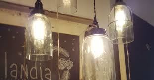 diy farmhouse light with a jar hometalk