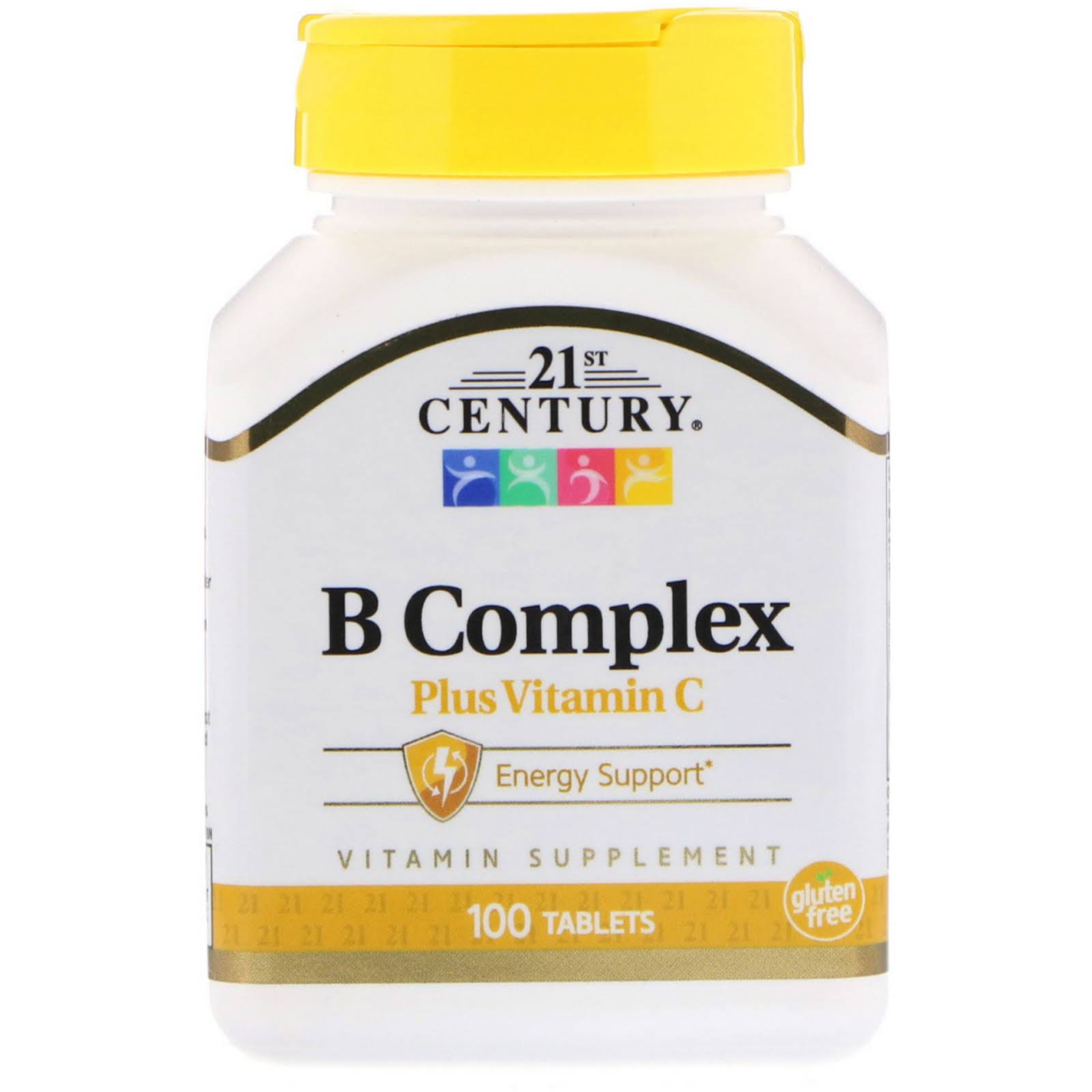 21ST Century B Complex With C Supplement - 100ct