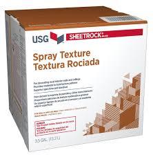 usg sheetrock brand spray texture usg