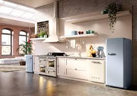 cuisine smeg réfrigérateurs ées 50 rétro cuisine le havre par smeg