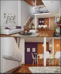Rectangular Living Room Dining Room Layout by Loft Living Brickwall Interior Design Ideas