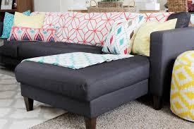 Karlstad Sofa Metal Legs by Ikea Hack U2013 Replacing Legs On An Ikea Couch U2013 The Blissful Bee