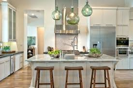 clear glass pendant lights for kitchen island pendant lighting