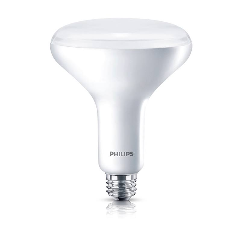 Philips Led Dimmable Flood Light Bulb - BR40, Soft White, 9W, 120V