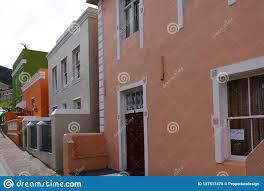 100 Dream Houses In South Africa Coloured BoKaap Cape Town Editorial
