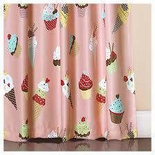 Target Pink Window Curtains by Cupcake Ice Cream Window Curtain Set 84